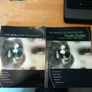 The World of Psychology textbook and study guide