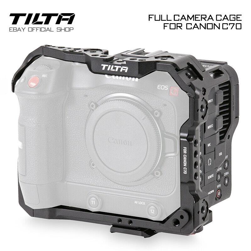 Tilta Full Camera Cage Rig Cam Handle Grip Holder Film Stabilizer For Canon C70