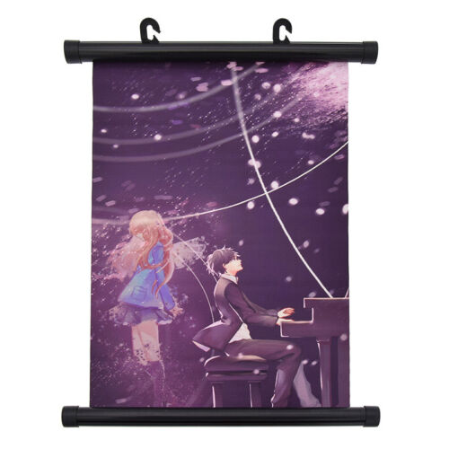 Janpan Anime Your Lie in April Scroll Poster Art Painting Ha