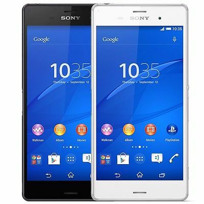 Sony Xperia Z3v D6708 32Gb  Verizon  Factory Unlocked Waterproof Smartphone   B