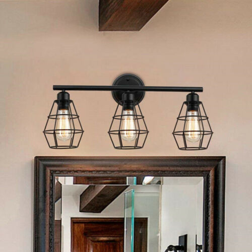 Bathroom Industrial Farmhouse Vanity Light