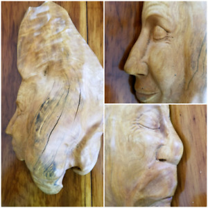 Inseparable Wood Carving by Canadian Artist