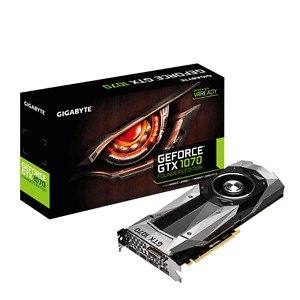 GTX 1070 GeForce NVIDIA Gigabyte 8GB