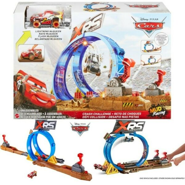 Bnib Disney Pixar Cars Xrs Crash Challenge Playset Choa Chu