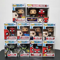 Funko Pop Marvel Spider-Man Homecoming Set of 11 Upside Down