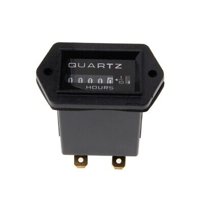 New Dc12v-36v Generator Sealed Hour Meter Counter For Boats Trucks Tractors Cars