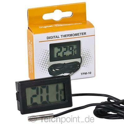 Digitales Thermometer TPM-10, für Koi Teich Schwimmbad Pool Aquarium