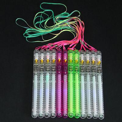30PCS LED Glow Flashing Wand Rainbow Light Up Sticks Party Concert Prom Blinking - Flashing Wand