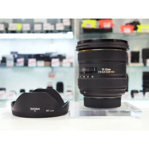 Sigma 10-20mm Canon (EF) Lens