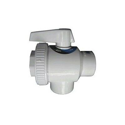Hayward Deluxe 4-Way Ball Valve SP0735 Pool Supply NEW