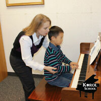 Piano Lessons in unique way! Highly recommended from parents!