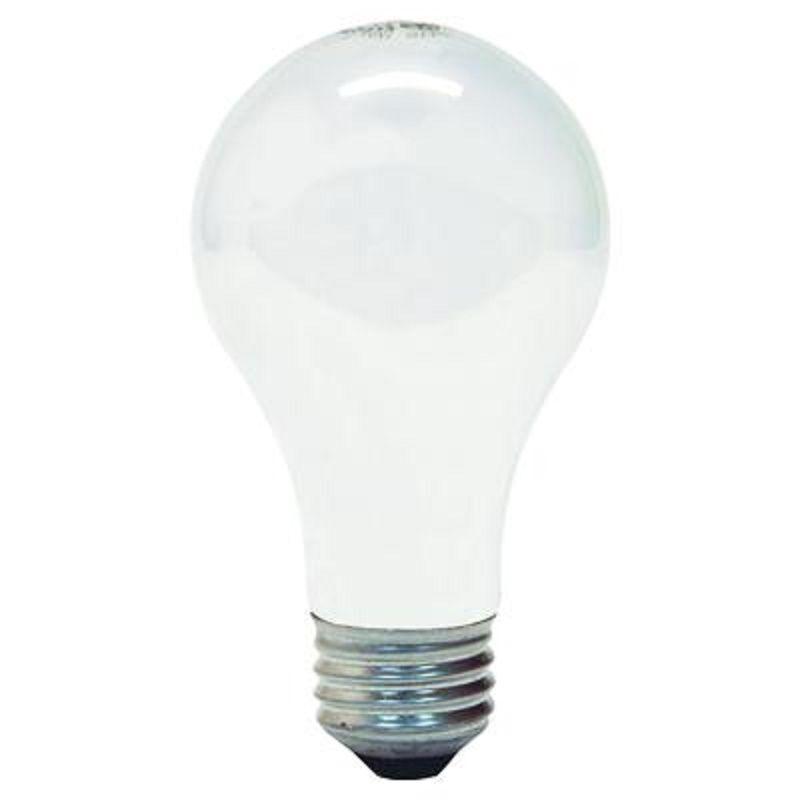 GE 41036 Standard Light Incandescent Bulbs E26 Base 100 W