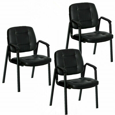 High Quality 3pcs Waiting Room Sturdy Conference Chair Office Chair Reception Us