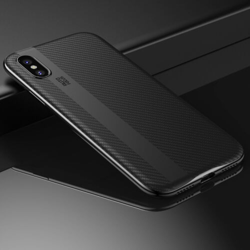 For iPhone X 8 7 iPhone8 Plus Luxury Shockproof Slim Hard Protective Case Cover