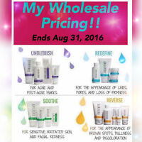 Rodan + Fields Regimens at WHOLESALE Price!