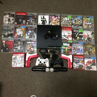SELLING ASAP gently used, mint 320GB PS3 w/GAME BUNDLE