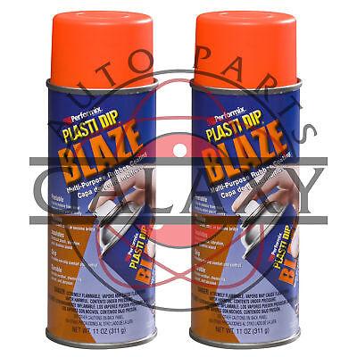 Performix 11218 Plasti Dip Blaze Orange - X2 11 Oz. Spray Can