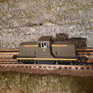 Lionel Style - RY Models BRASS GE 44 ton CN Switcher O Scale
