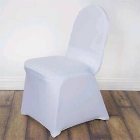 White spandex chair covers for sale