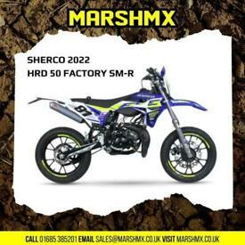 Sherco 2022 HRD 50cc Factory SM-R Road Bike - Nil Deposit Finance Available
