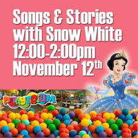 Join us for songs and stories with Snow White