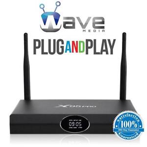 WAVE MEDIA® ANDROID TV BOX *UNLIMITED ON DEMAND* RATED #1* FREE RE-PROGRAMMING