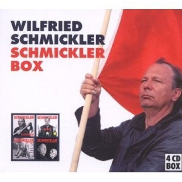 WILFRIED SCHMICKLER - SCHMICKLER BOX 4 CD NEU