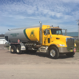 2010 Peterbilt Fuel Oil Truck and Tank *Excellent Condition*