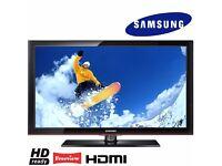 "Samsung 42"" inch HD Ready TV Flat Screen Television Freeview + 3x HDMI + USB Media Player 600Hz"