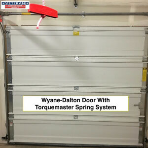 Wayne Dalton 8'x7' Garage door and Chamberlain 1/2 HP Opener