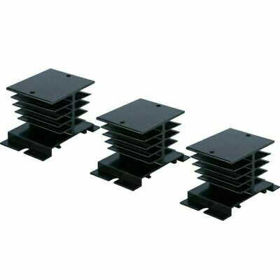 3pcs Aluminum Heat Sink 80mm X 50mm X 50mm For Solid State Relay Ssr-10a25a40a