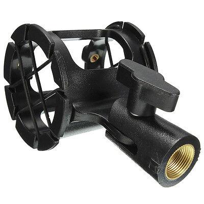 Universal Shotgun Microphone Mic Suspension Shock Mount Pencil Clamp Holder ()