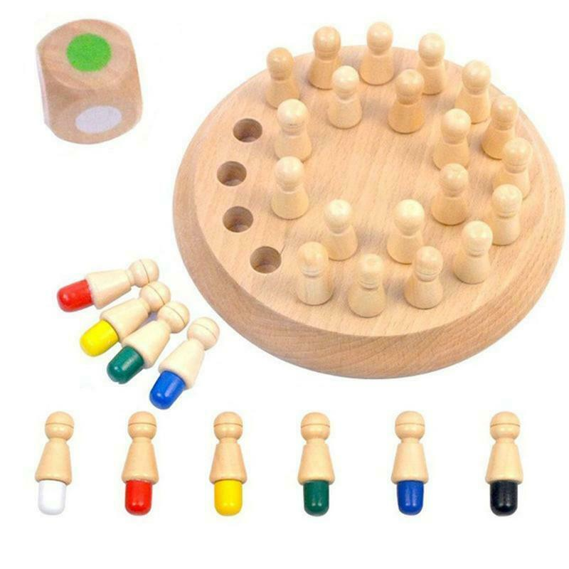 Wooden+Memory+Match+Stick+Chess+Game+Kids+Puzzle+Development+Educational+Toys+J