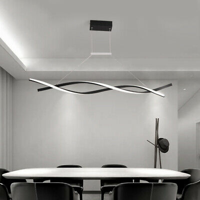 Modern LED Chandelier Dining Room Ceiling Light Acrylic Pendant Lamp Fixtures Dining Room Lighting