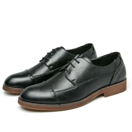 Details about  /38-47 Mens Dress Formal Business Leisure Shoes Oxfords Work Office Lace up New L