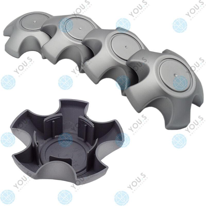 5 x YOU.S Hub Caps Rim Cover 130,0 - 68,0 mm - Silver