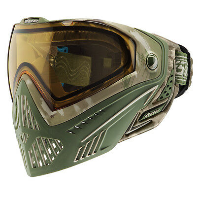 Dye I5 Pro DyeCam camo Thermalmaske Paintball Airsoft Softair Goggle (Dye Maske)