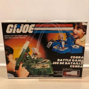 Vintage toy 1982 G.I. Joe Cobra Battle Game