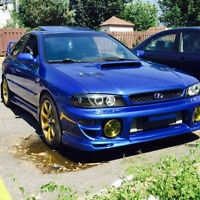 subaru 2.5rs 1998 swap wrx 2002 tres clean