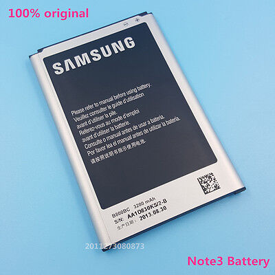 Genuine Samsung Galaxy Note3 Battery B800BC B800BE B800BZ For N9000 N9005 US