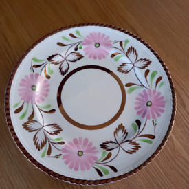 Art Deco Gray's Pottery hand-painted plate