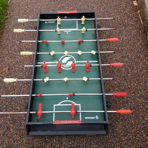 Foosball  and Hockey Table Game Combination