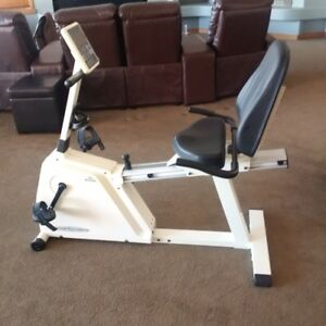Vision Fitness semi-recumbent bike