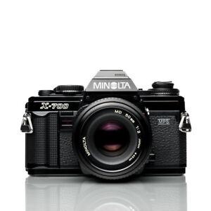 Minolta X-700 35mm Film Camera | MD 50mm F2