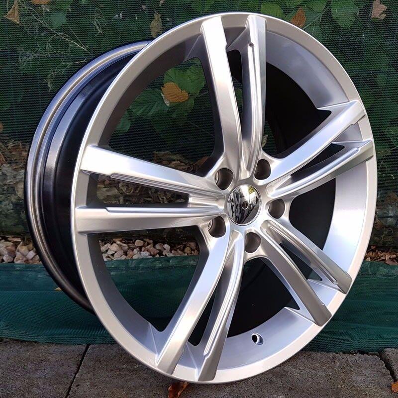 "18"" R Line Twine spoke Style on tyres for a Golf MK5 MK6 MK7 Jetta Caddy ETC"