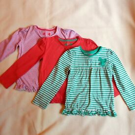 TU 3 Girl's Long Sleeve Tops 4-5 Years