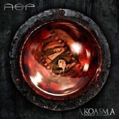 """ASP """"AKOASMA HORROR VACUI LIVE"""" 2 CD GOTHIC NEW"""