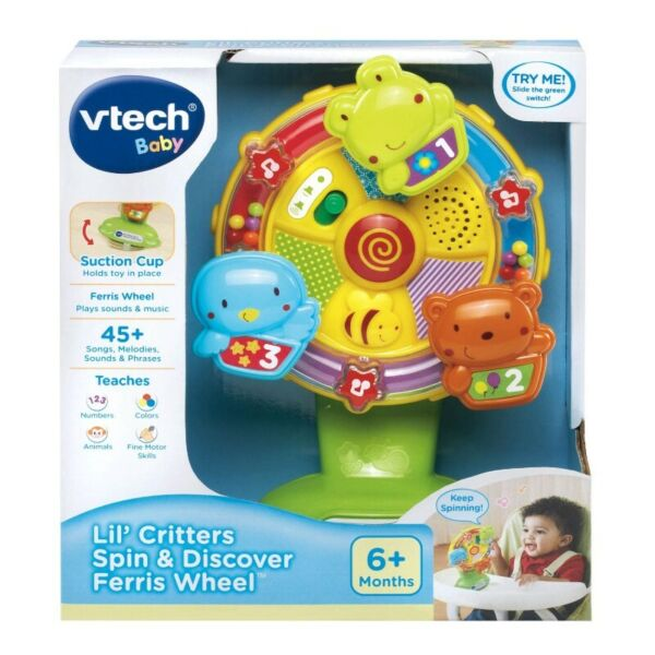BNIB: VTech Baby Lil' Critters Spin and Discover Ferris Wheel