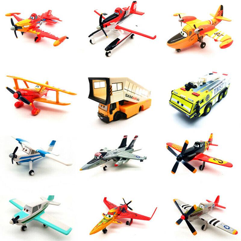 как выглядит Disney Pixar Planes 1 2 Diecast Metal Toy Model Plane Loose 1:55 New фото