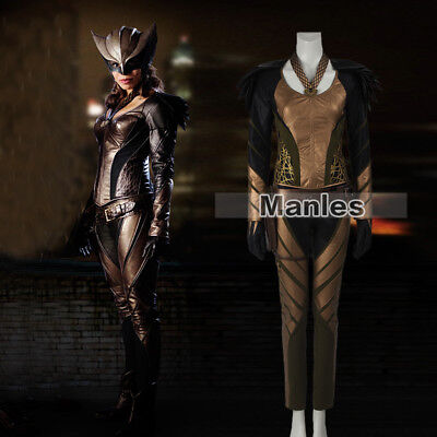 Legends of Tomorrow Hawkgirl Cosplay Shiera Sanders Costume Fancy Dress Outfits